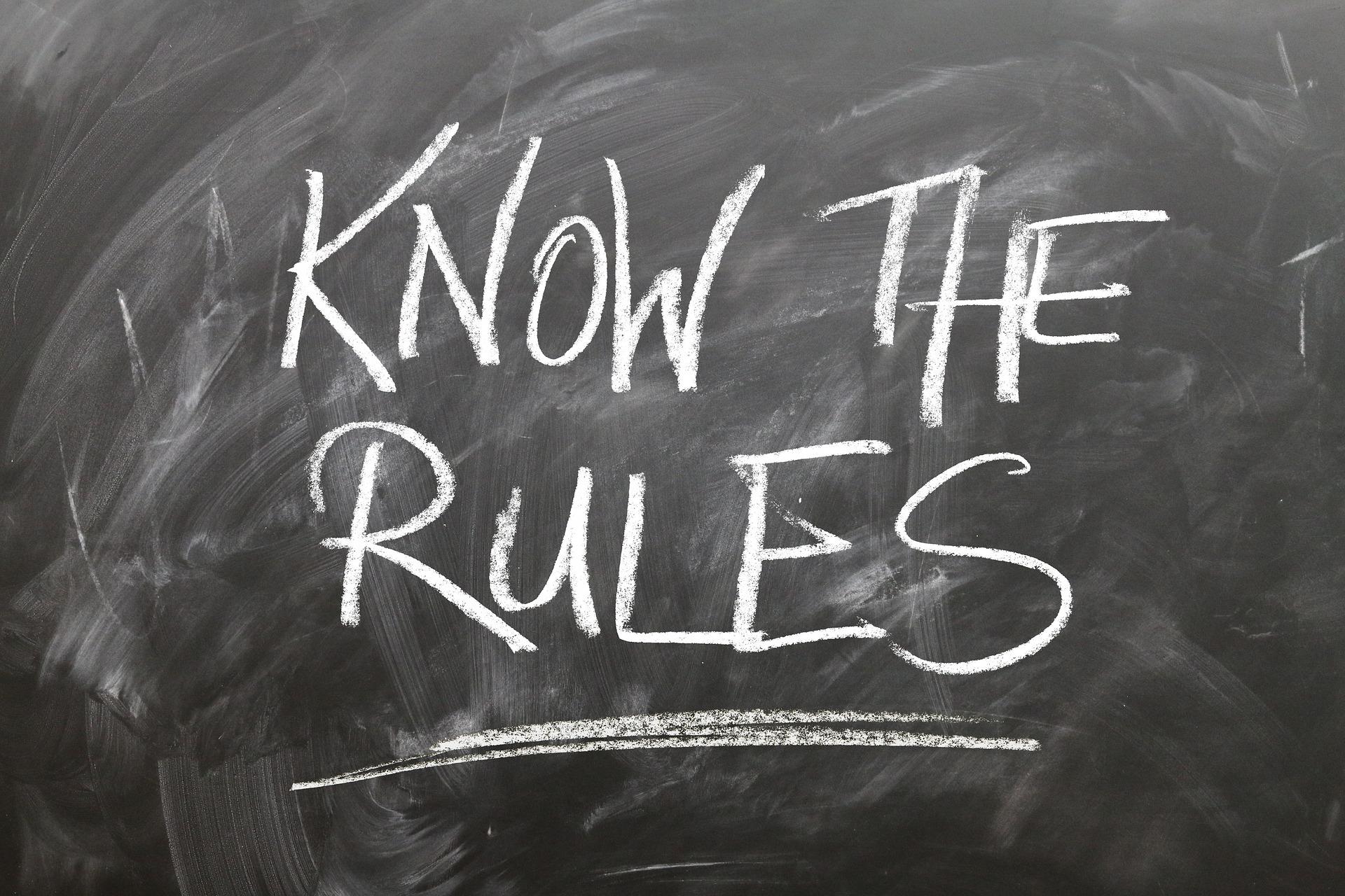 Three Rules of Volatility